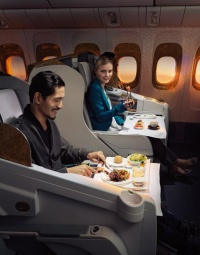 Emirates Voted 'Best Airline Food and Wine' by Frequent Business Traveler Readers